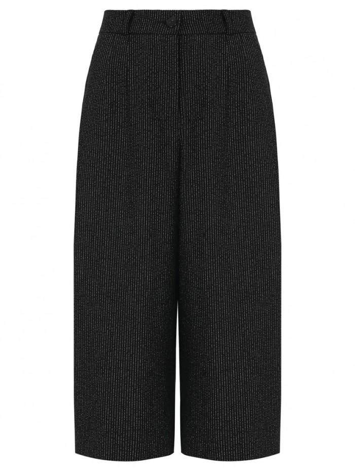 Lurex bermuda shorts