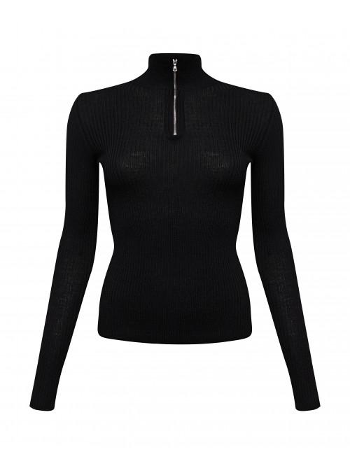 l turtleneck with zipper