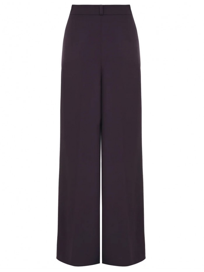 Palazzo pants in violet