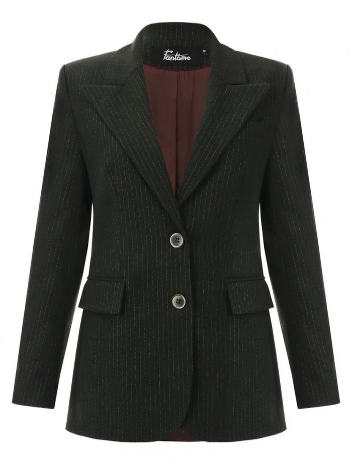 Three piece suit in green